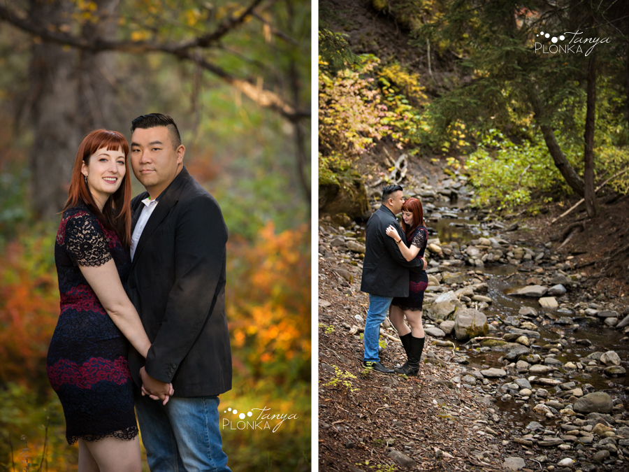 Crowsnest Pass autumn engagement session