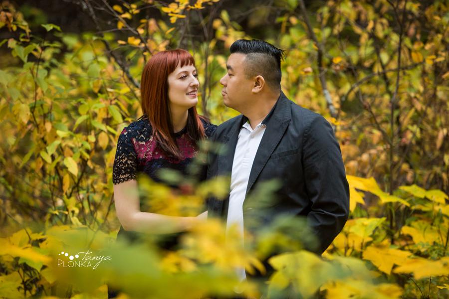 Miner's Path autumn engagement session