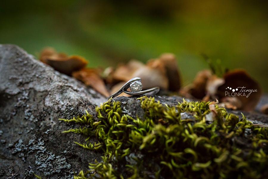 Crowsnest Pass autumn engagement photos