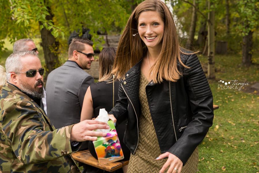 Levi and Heather, Goat Mountain Getaway Autumn Wedding