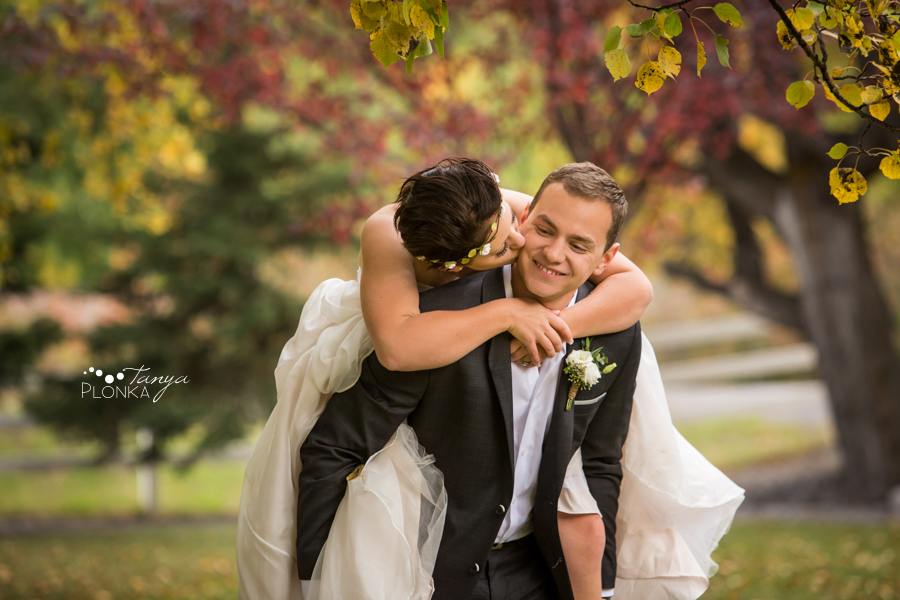 Levi and Heather, Crowsnest Pass Autumn Wedding
