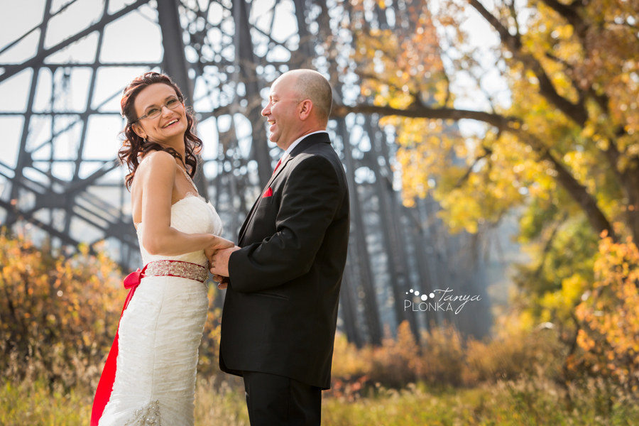 Trent & Dominika, Heritage Hall autumn wedding ceremony
