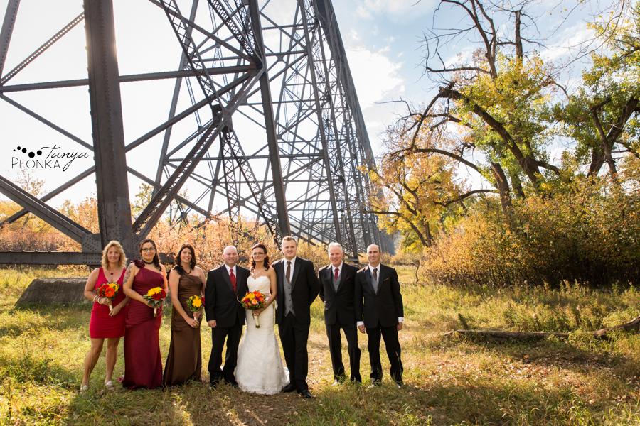 Trent & Dominika, Indian Battle Park autumn wedding