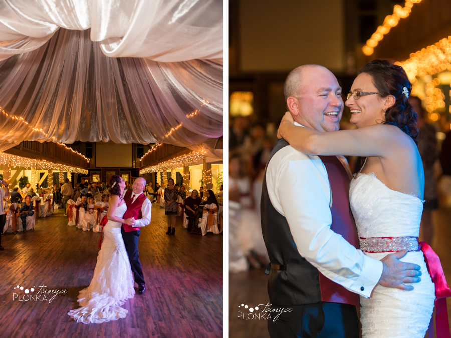 Trent & Dominika, Heritage Hall autumn wedding reception