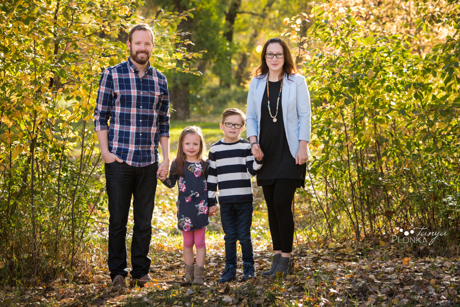 Indian Battle Park fall morning family session