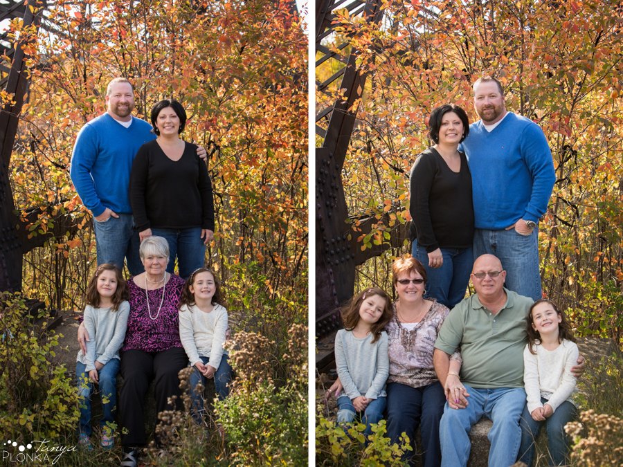 Indian Battle Park fall family photos