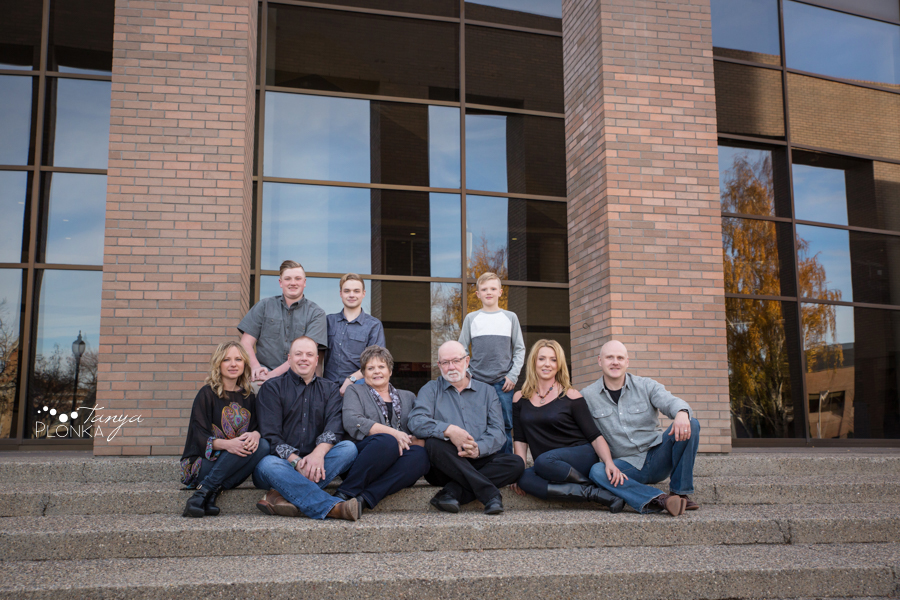 Lethbridge City Hall autumn family photos