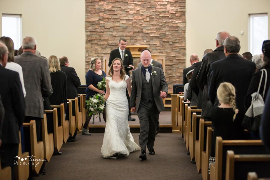 Dan & Deb, Monarch church wedding ceremony