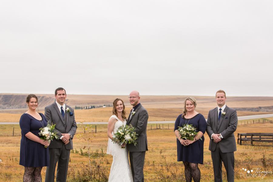 Dan & Deb, wedding photos in Monarch Alberta