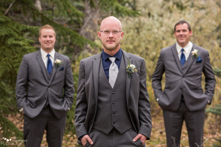 Dan & Deb, Lethbridge late autumn wedding photos