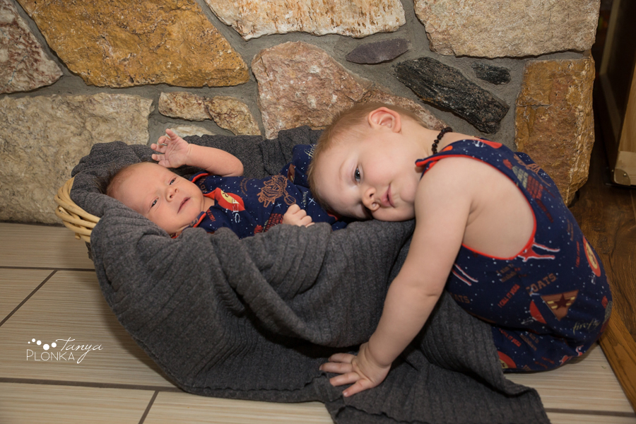 Lethbridge newborn indoor baby photo session