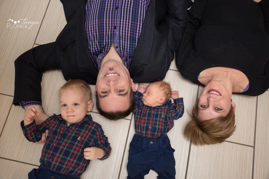 Lethbridge newborn family photo session