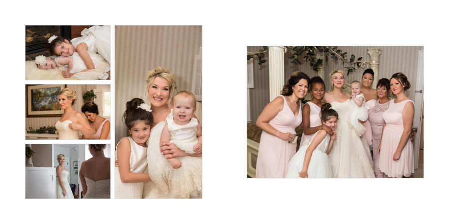 Joshua and Christina Lethbridge Norland wedding photography photo album