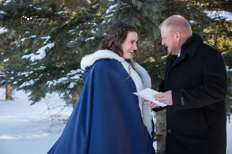 Kevin & Kayla, Lethbridge winter wedding photos
