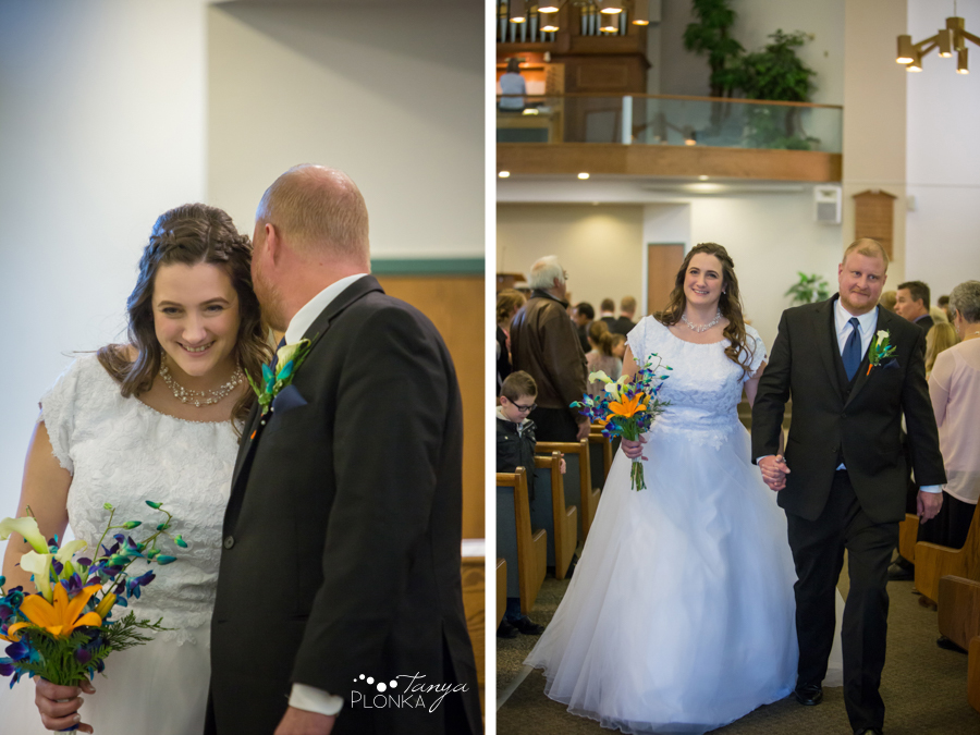 Kevin & Kayla, Coaldale winter wedding photos