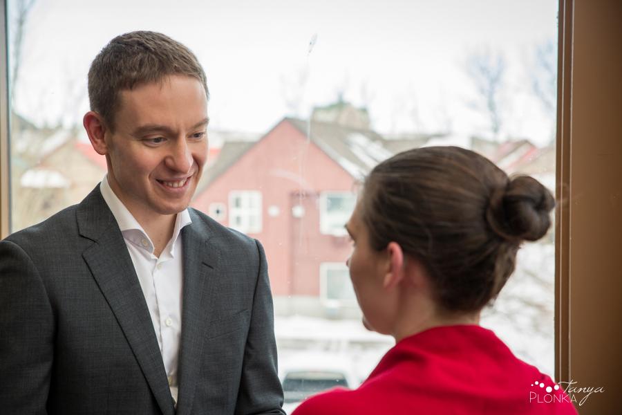 Terri & Craig, Waterton winter elopement