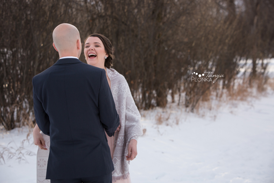 Lynn & Kaitlyn, Lethbridge winter wedding