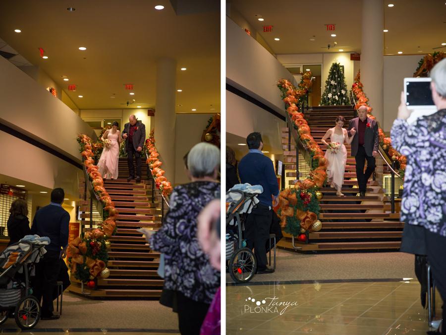Lynn & Kaitlyn, Lethbridge City Hall wedding ceremony