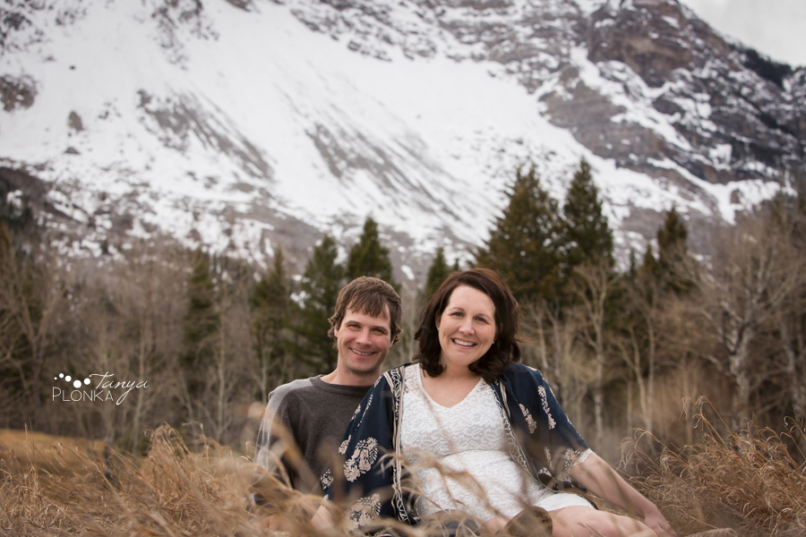 Turtle Mountain maternity photos