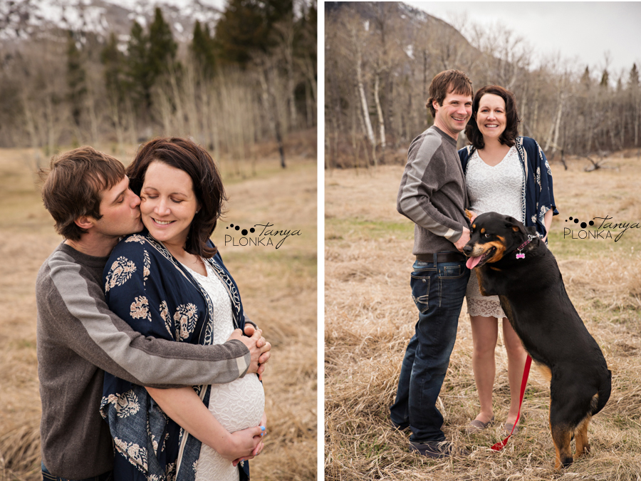 Crowsnest Pass maternity photos