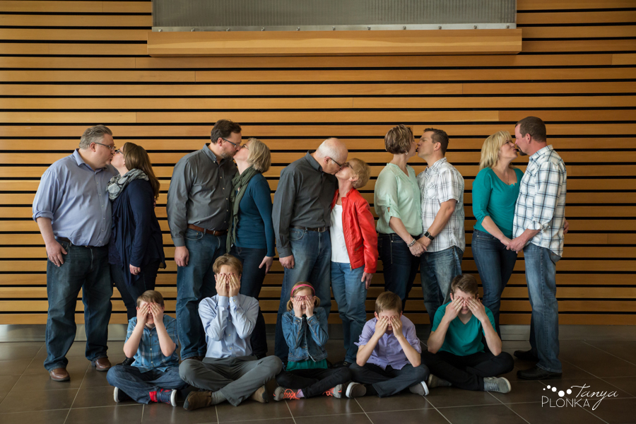 Lethbridge extended family photo session