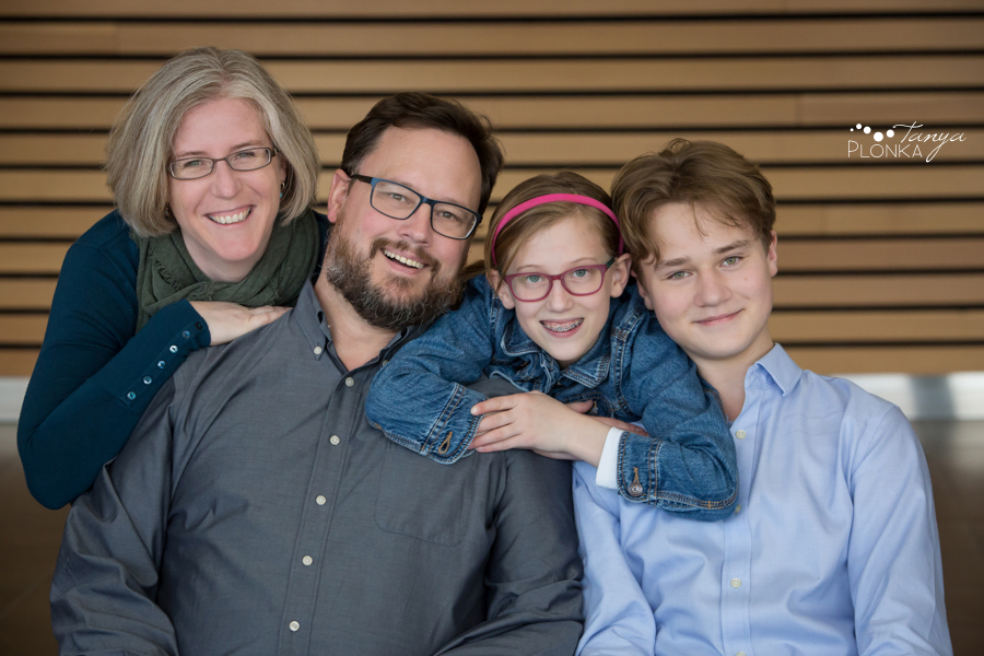 Lethbridge extended family indoor photo session