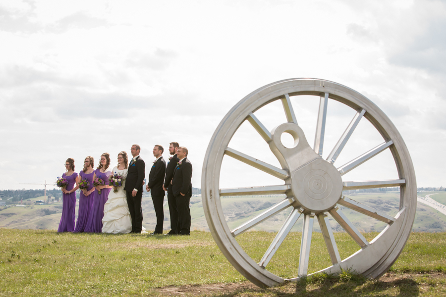 Melinda and Henk, Galt Museum wedding photography