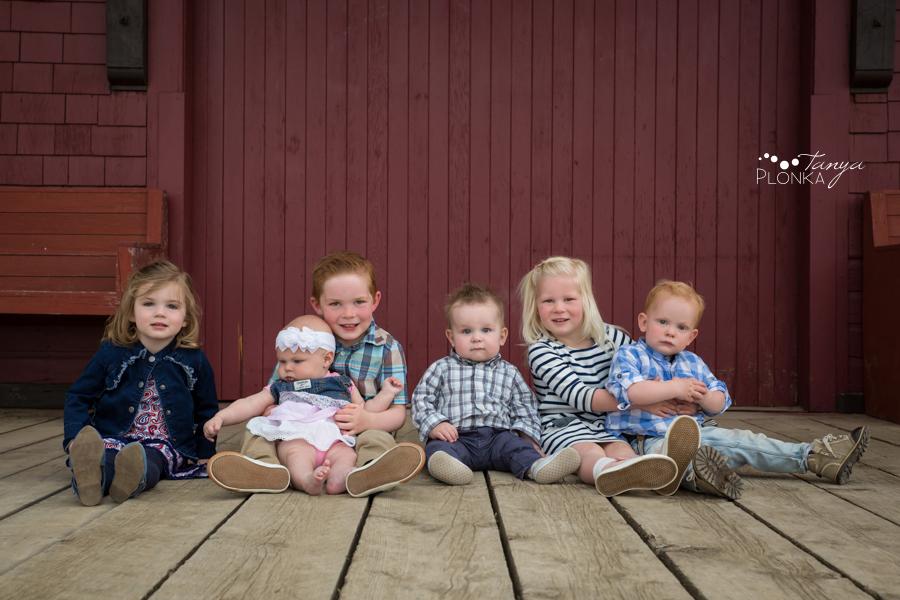 Prairie Tractor Club extended family photos