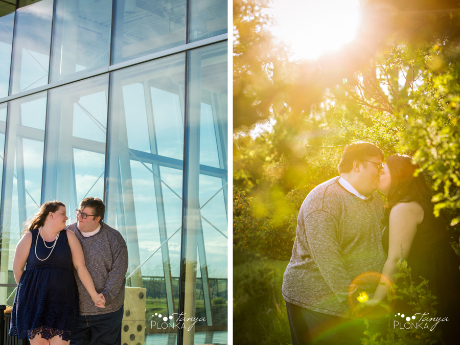 Galt Museum engagement photos