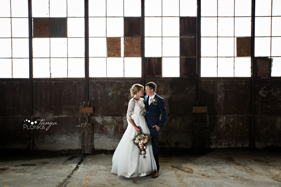 Janelle and Gerald, Fort Macleod spring wedding photos
