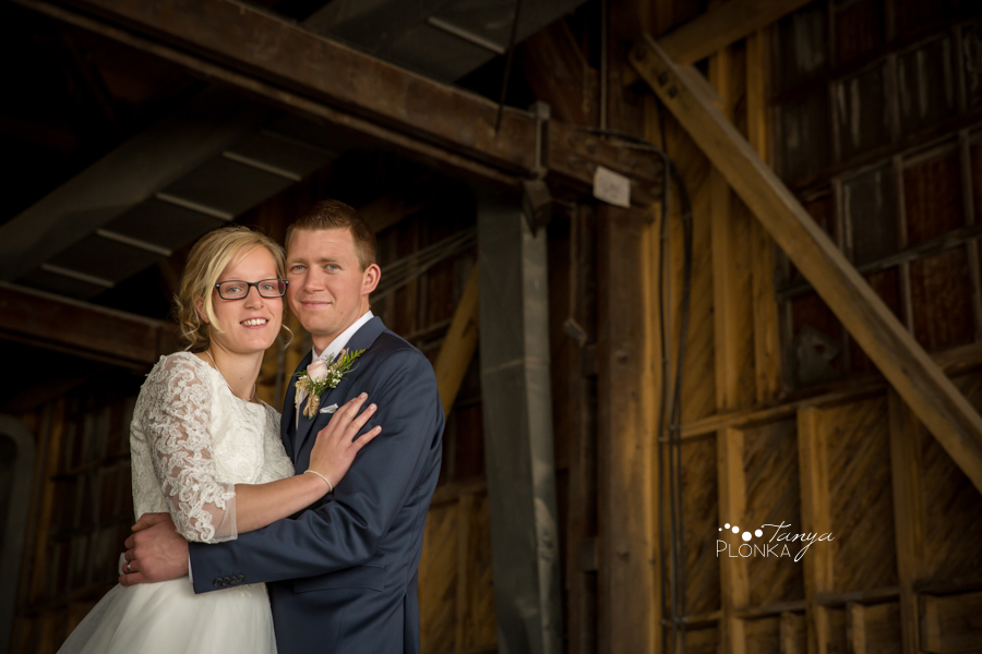 Janelle and Gerald, Fort Macleod wedding