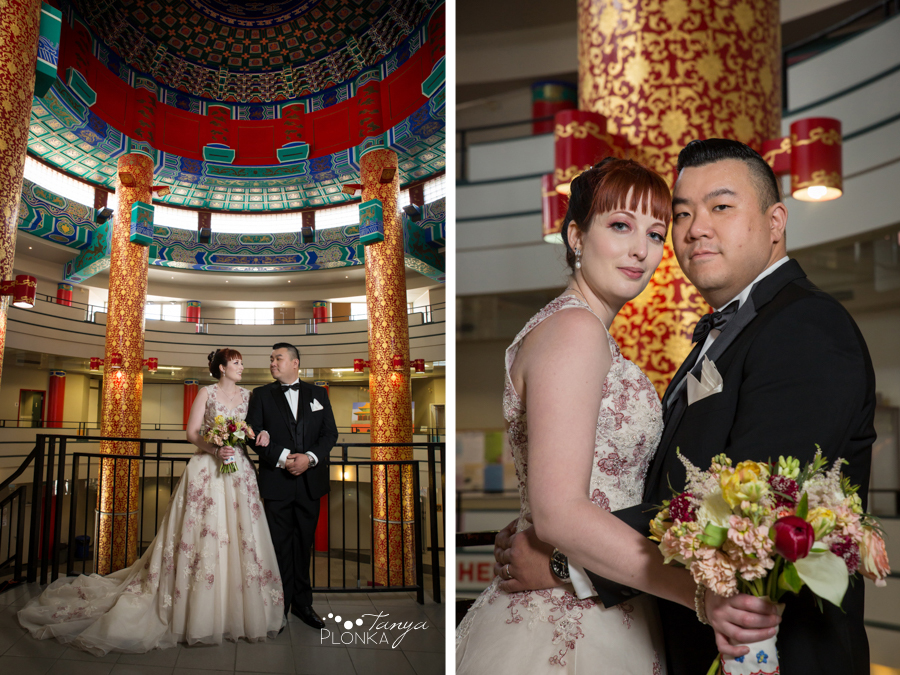 Brittany and Sam, Calgary downtown spring wedding photos