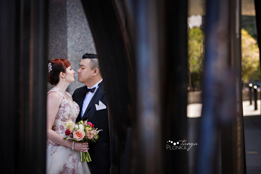 Brittany and Sam, Calgary Chinatown spring wedding