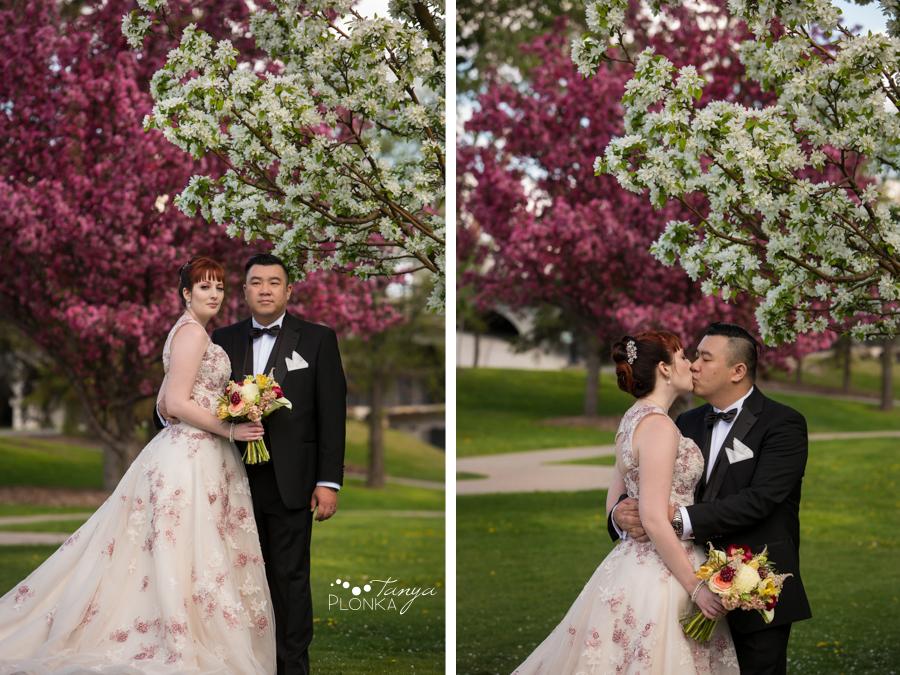 Brittany and Sam, Calgary Chinatown wedding photos