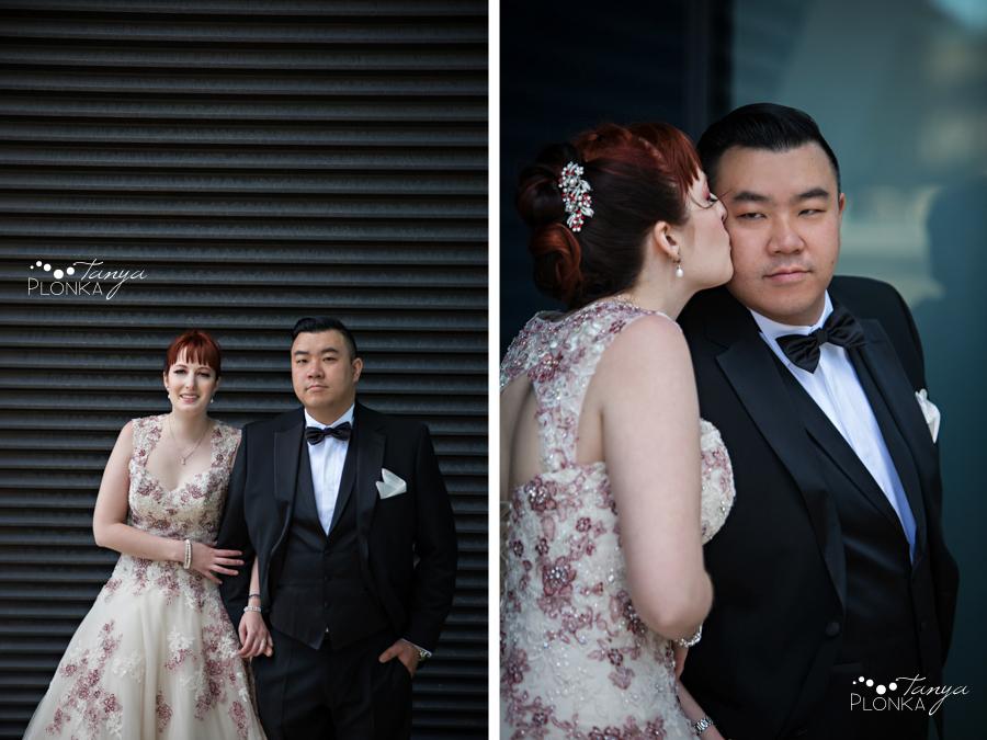 Brittany and Sam, Calgary downtown wedding photos