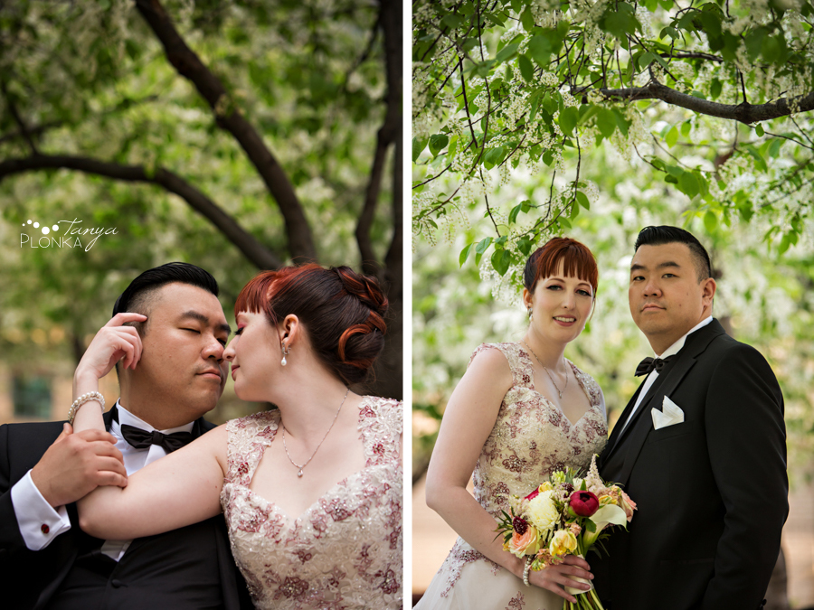 Brittany and Sam, Calgary downtown spring wedding