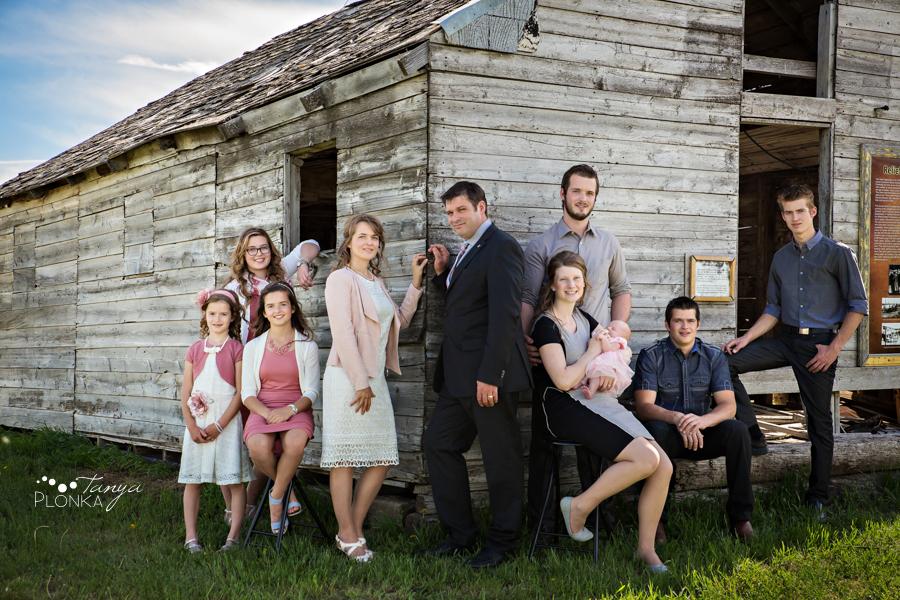 Coyote Flats family portraits