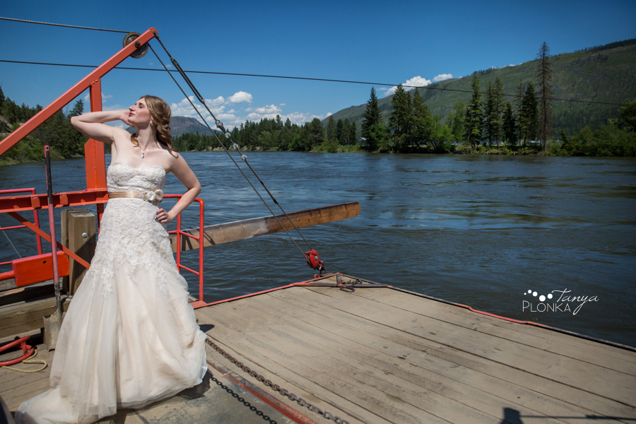 behind the scenes at Chris and Sarah's wedding, Kamloops rainbow themed wedding