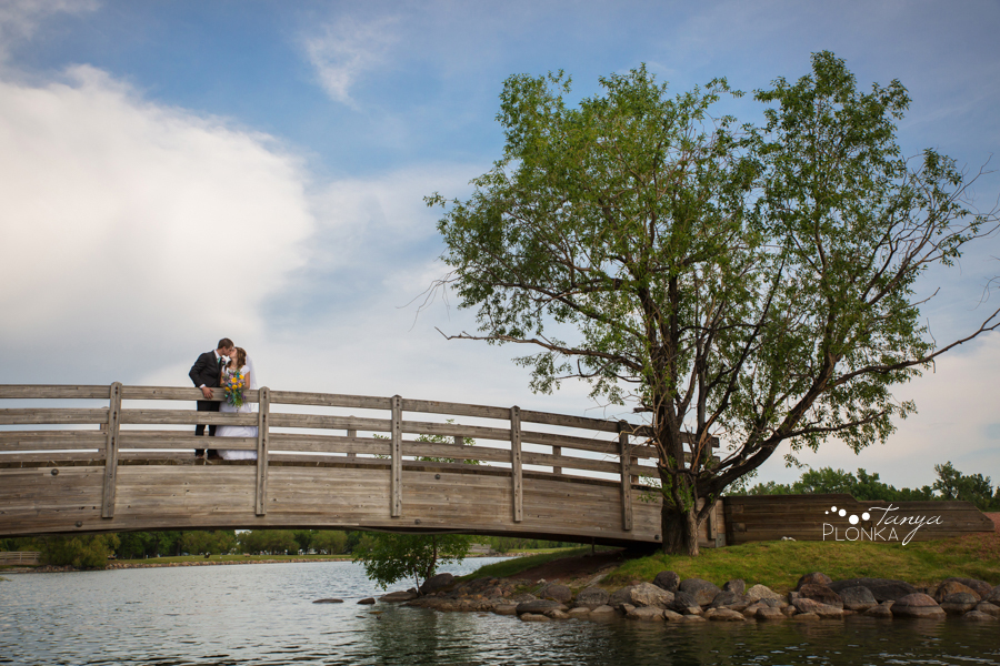 Kim and Nathaniel, Lethbridge Research Centre wedding portraits