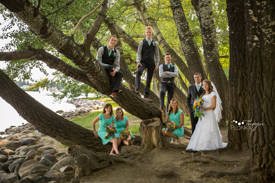 Kim and Nathaniel, Lethbridge Henderson Lake wedding photos