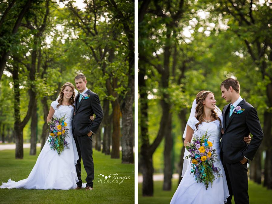 Kim and Nathaniel, Lethbridge Henderson Lake wedding photos