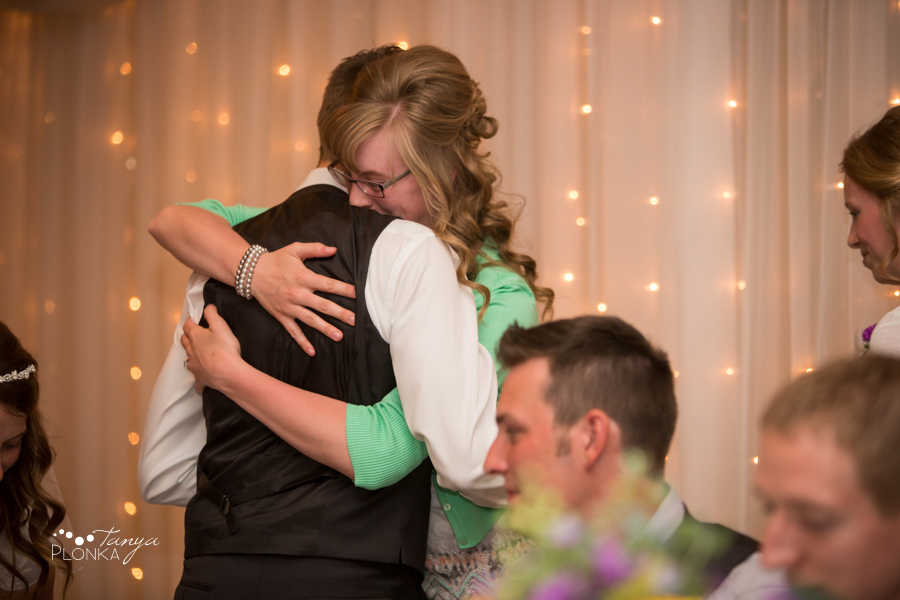 Kim and Nathaniel, Lethbridge Lodge wedding reception