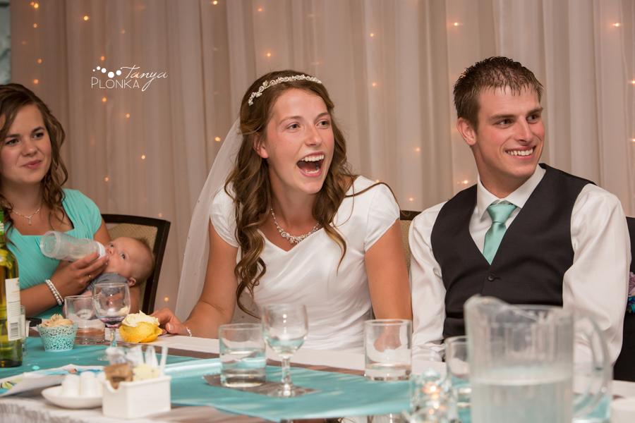 Kim and Nathaniel, Lethbridge Lodge wedding reception
