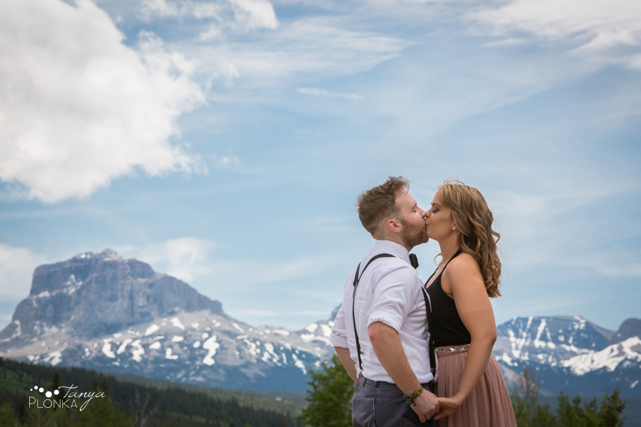 Waterton engagement photos