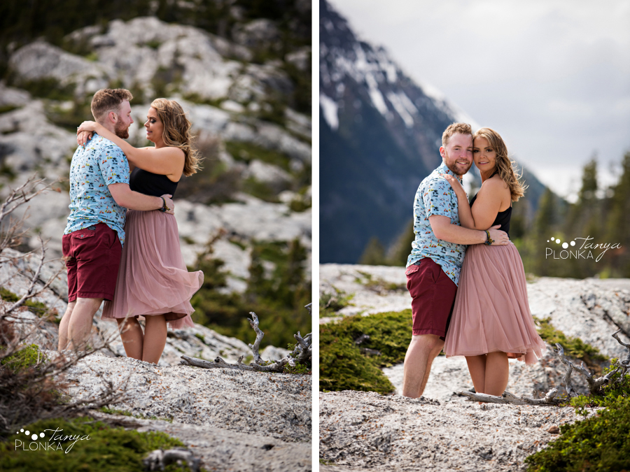 Waterton Bear's Hump engagement session