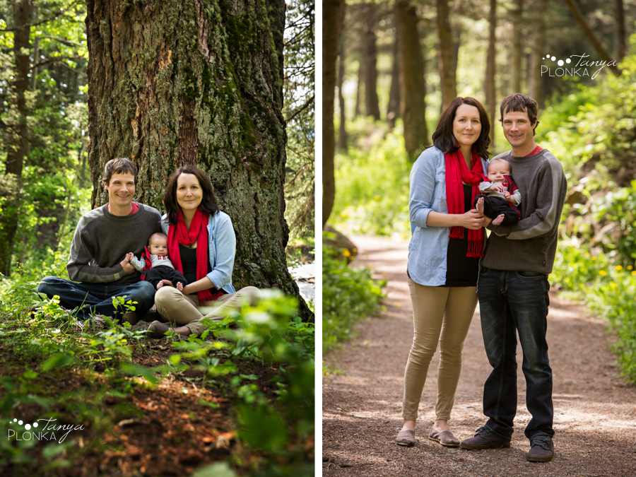 Crowsnest Pass outdoor newborn session