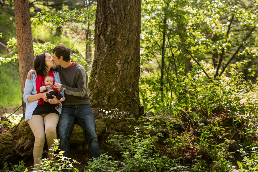 Crowsnest Pass outdoor newborn photos
