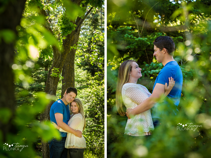 Aperture Park summer couples session
