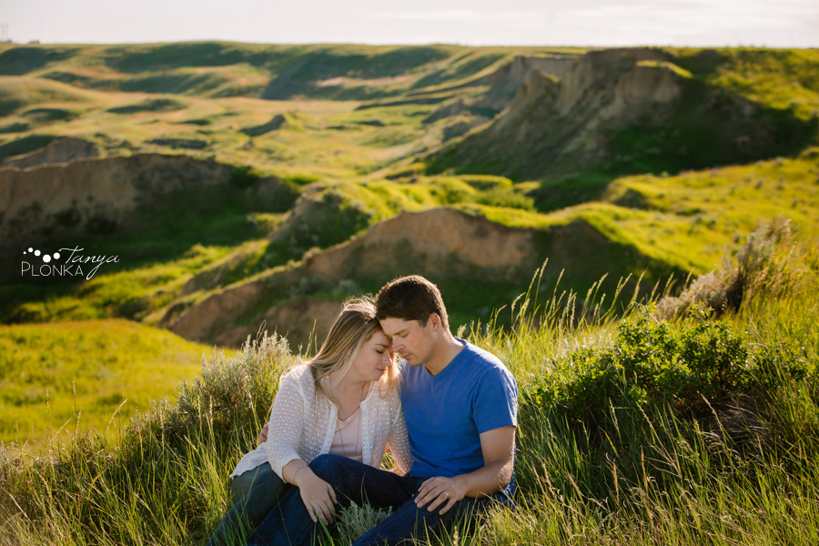 West Lethbridge coulees couples photos