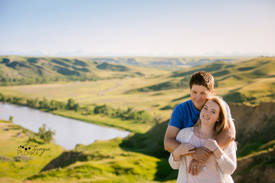 West Lethbridge coulees couples session